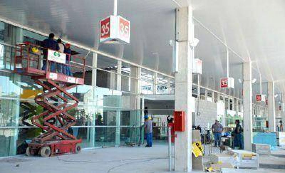 La nueva terminal de ómnibus se inaugurará el lunes
