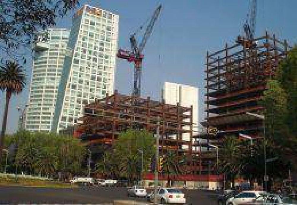 Luego de tres meses en caída, la construcción aumentó 2,2%