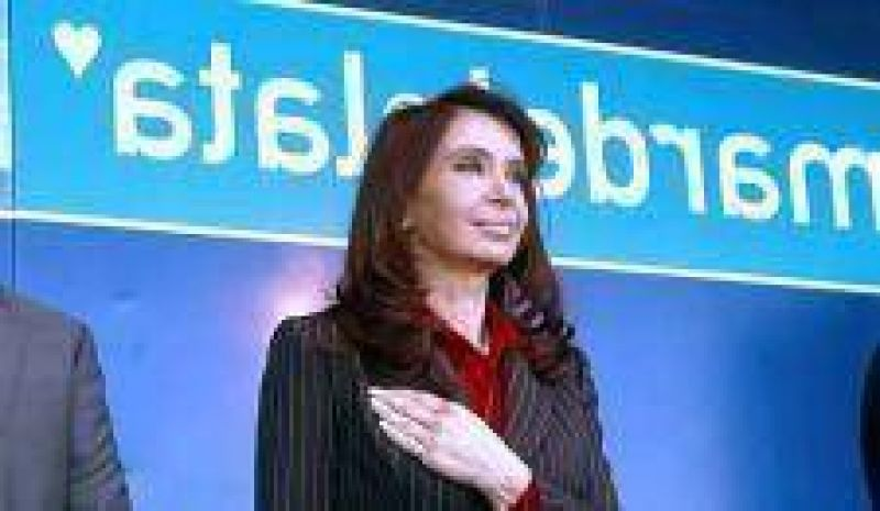 La Presidenta anunció temas de la Cumbre de 2010