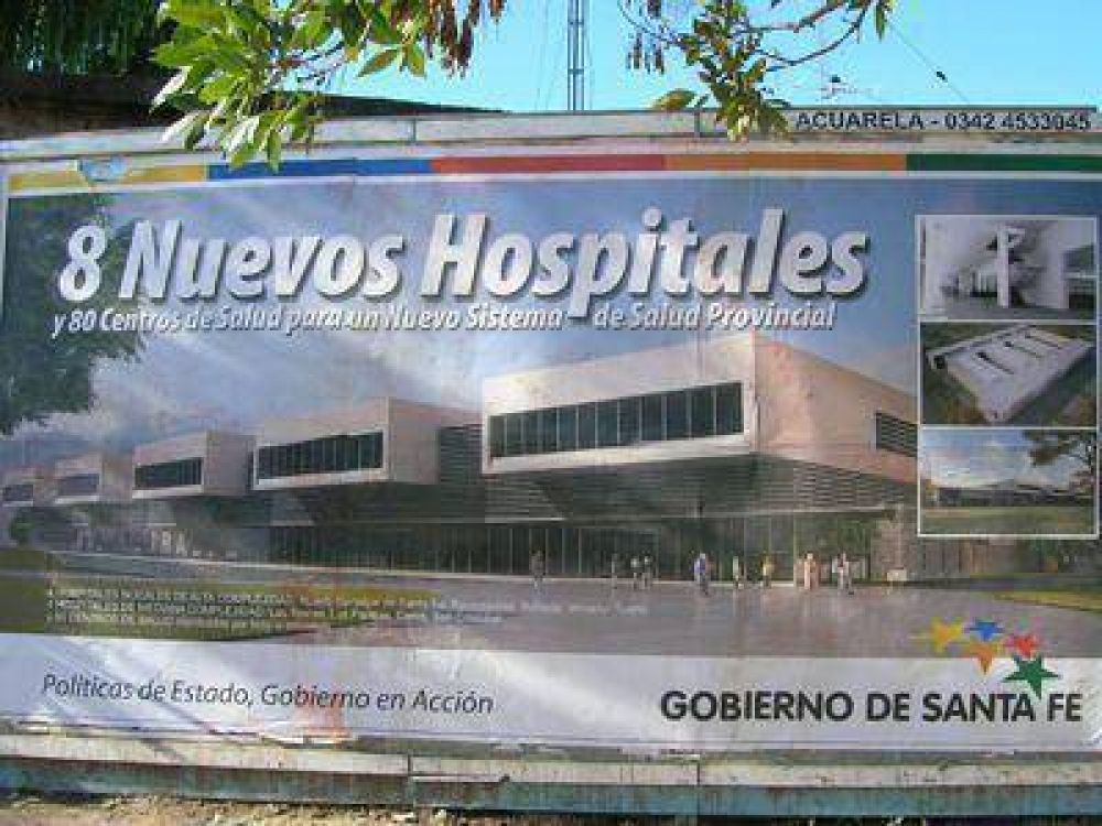 Cappiello reconoció que no se construirá un nuevo hospital