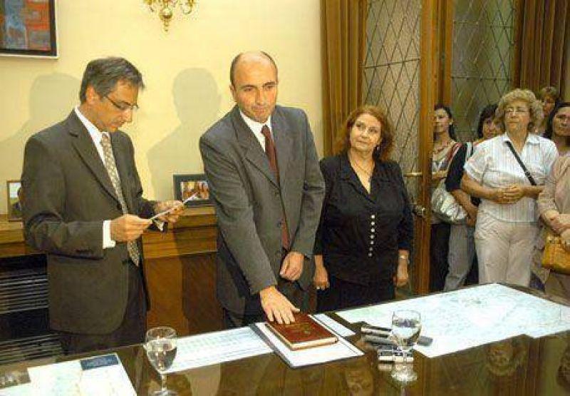Eduardo Rodríguez asumió como secretario de Desarrollo Social