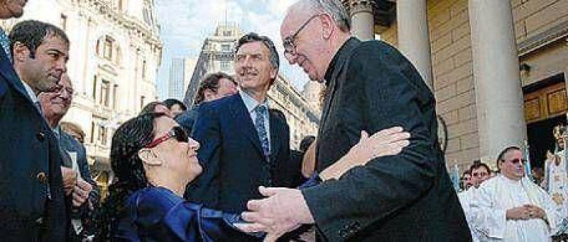 La presi�n de Bergolio y Michetti termin� con el matrimonio gay