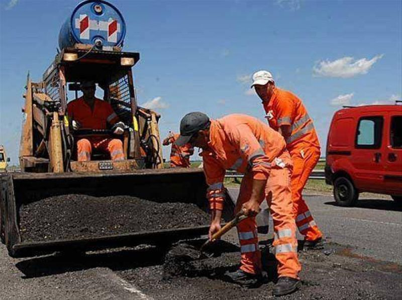 Se intensifican las obras en el circuito vial de la Costa atlántica