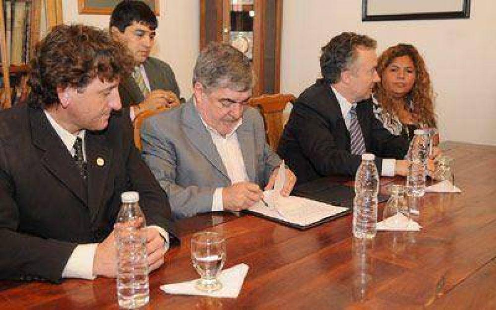 Das Neves resaltó la generación de puestos de trabajo