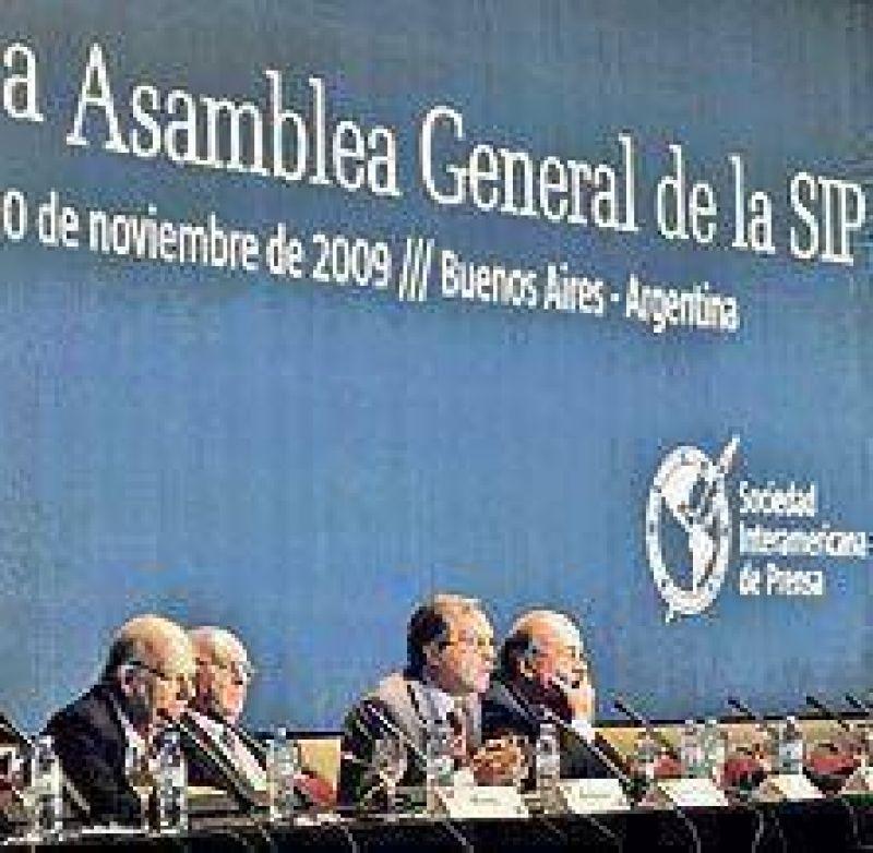 Fuerte preocupación de la SIP por el avance oficial sobre Papel Prensa
