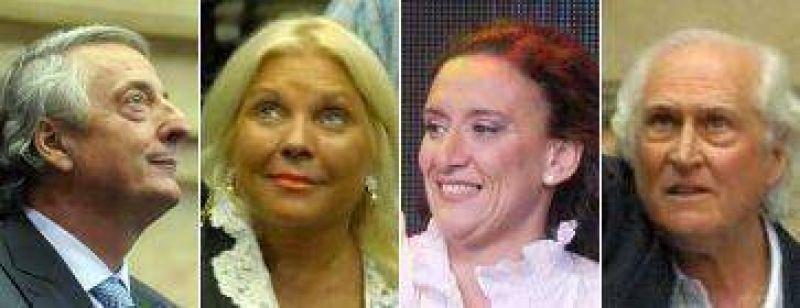 """Kirchner, Carrió, Michetti y """"Pino"""", entre los diputados más destacados"""