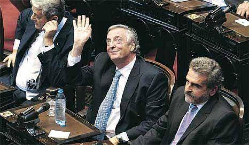 """Debut """"no positivo"""" para la banca presidencial"""