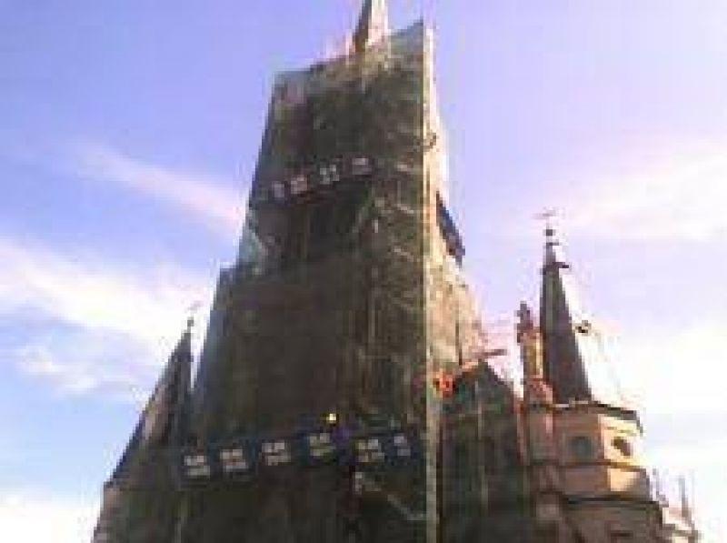 Surgen ligeros retrasos en la remodelaci�n de la Catedral