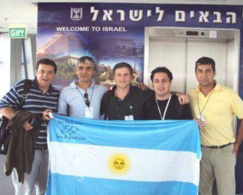 De Argentina a Tel Aviv: La FAM visit� Israel