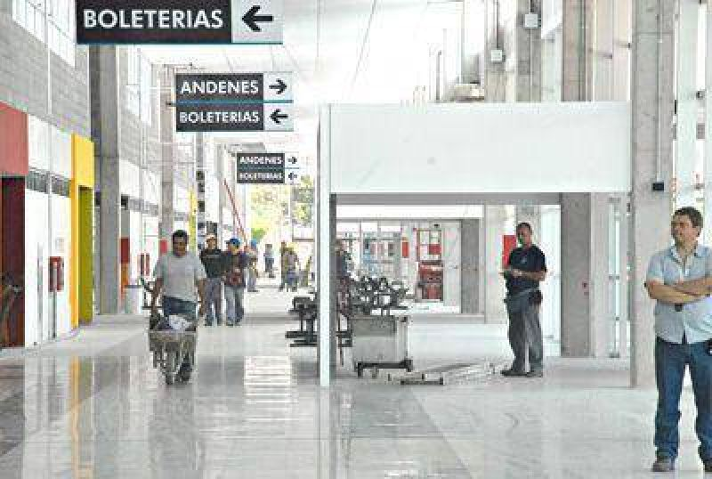 La nueva Terminal de Omnibus funcionar� a partir de ma�ana