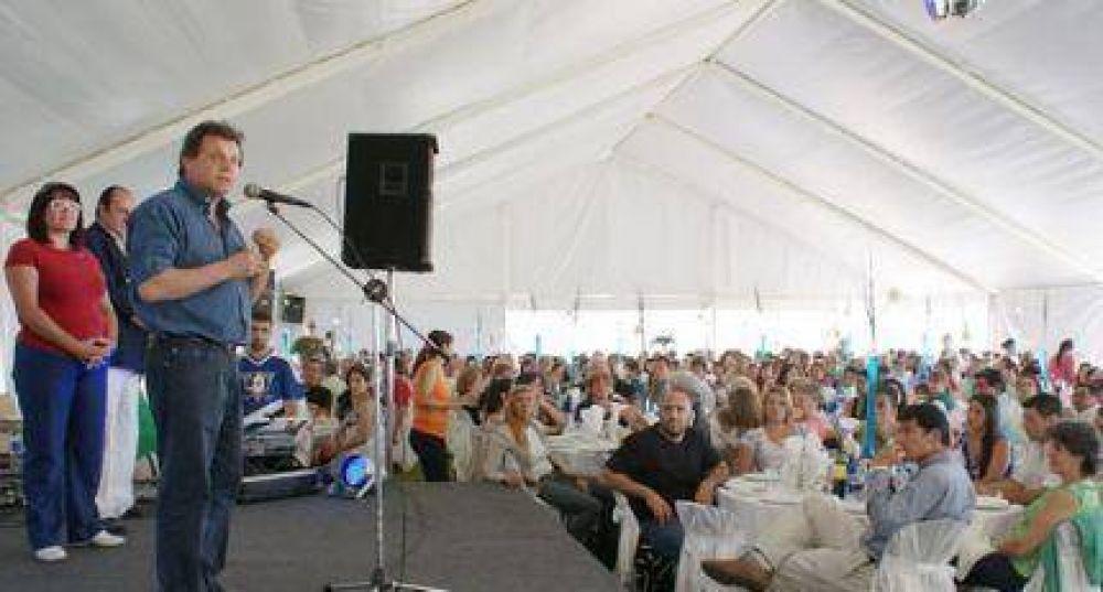 Trabajadores de la Sanidad inauguraron su predio recreativo