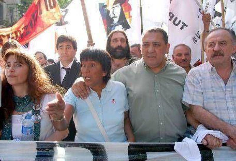 """D'Elía: """"Parece que sólo la Argentina blanca tiene derecho a expresarse"""""""