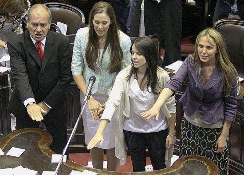 """""""Con el acuerdo del lunes logramos debilitar a un s�mbolo del kirchnerismo en el centro provincial"""""""