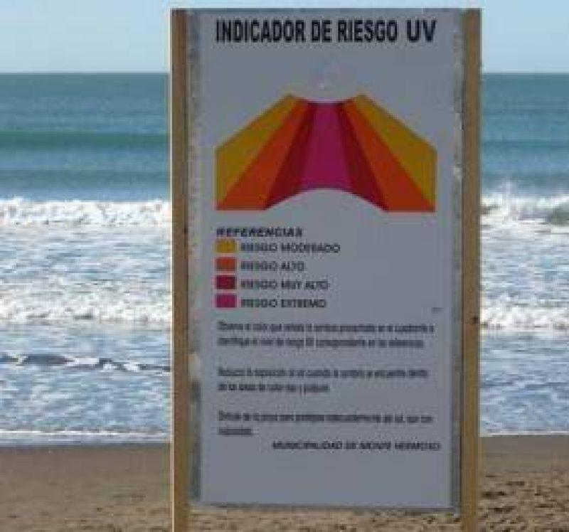 Monte es la primera playa del país con indicadores de riesgo solar