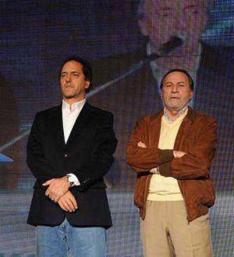 Tras pelearse con Kirchner, Balestrini sumó poder en el Gobierno de Scioli