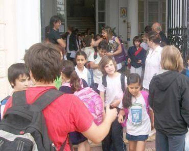 Los alumnos empezaron las vacaciones