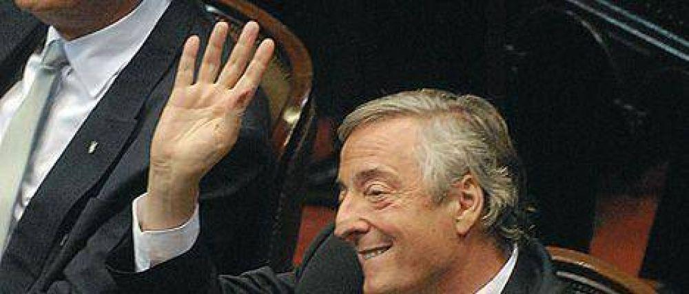 Kirchner asumió como diputado y no volvió al Congreso