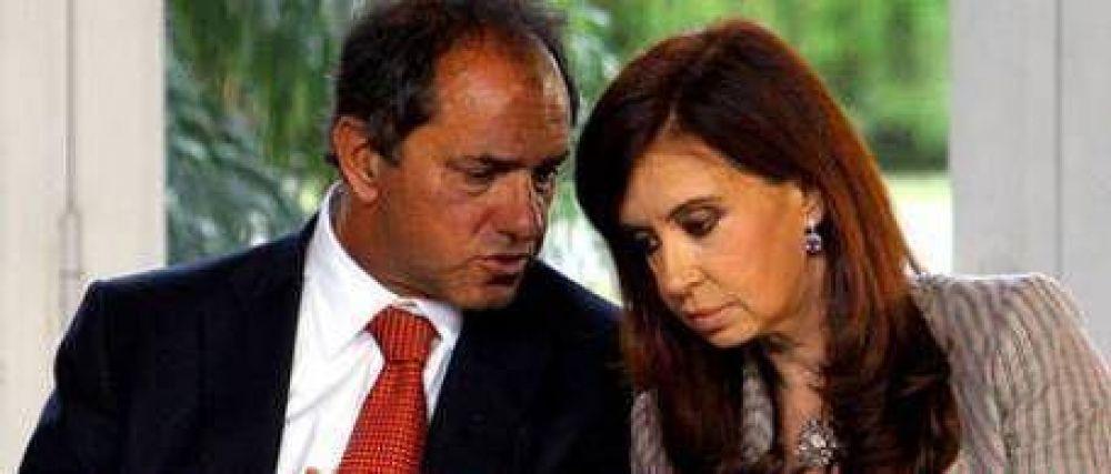 Scioli no está dispuesto a romper con Cristina