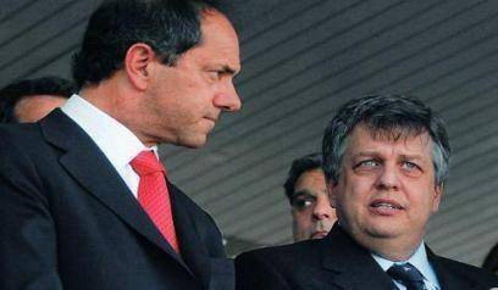"""Scioli confirmó que se realizó una denuncia por """"instigación"""" al delito"""