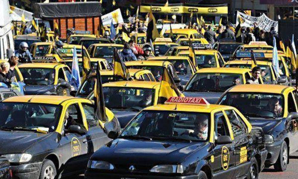 Aumentan los taxis en la ciudad de Buenos Aires