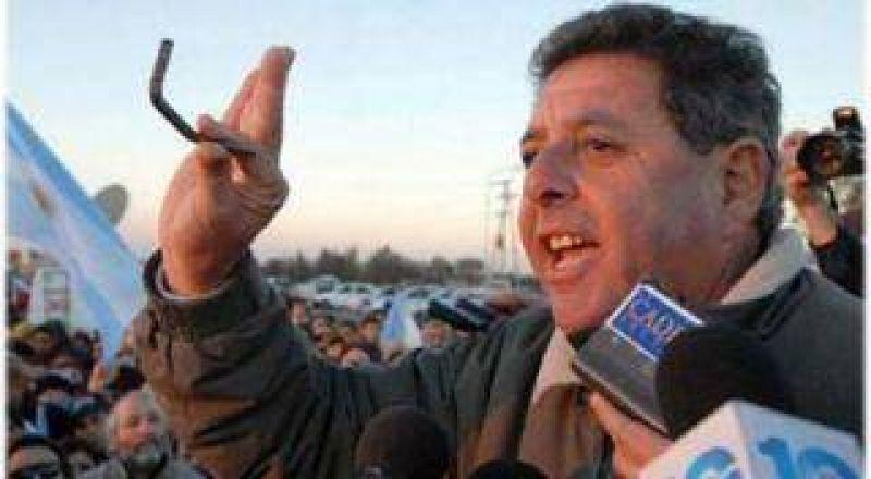 De Angeli amenaza con un nuevo paro del campo el 3 de enero