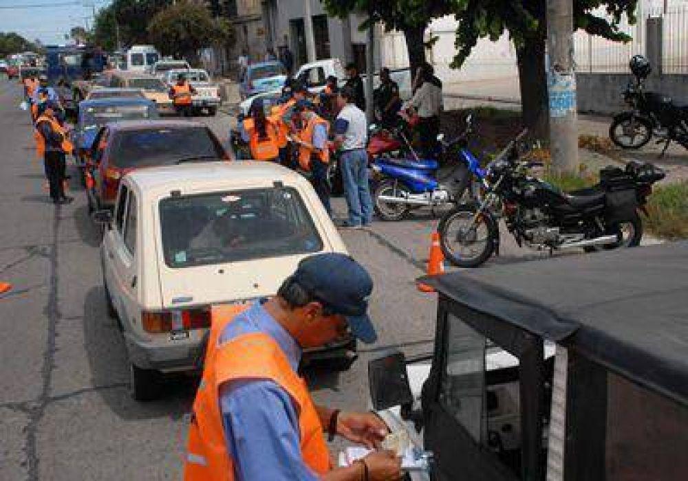 Tránsito secuestró 12 motos y 5 vehículos en un operativo