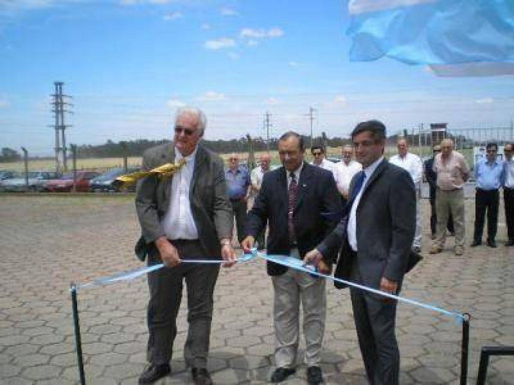 La CELTA inauguró el nuevo transformador de 30 MVA en la Estación de TRANSBA