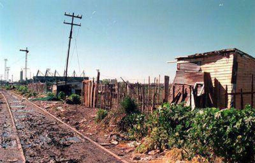 Hay cerca de 4.000 familias viviendo en asentamientos precarios en Mar del Plata