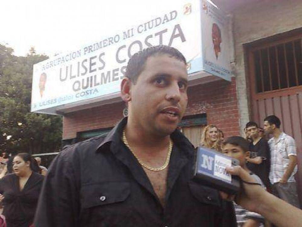 Ulises Costa lanzó oficialmente su candidatura a intendente de Quilmes
