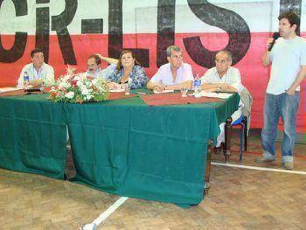 Bolívar recibió representantes de toda la provincia en un exitoso encuentro de afirmación radical