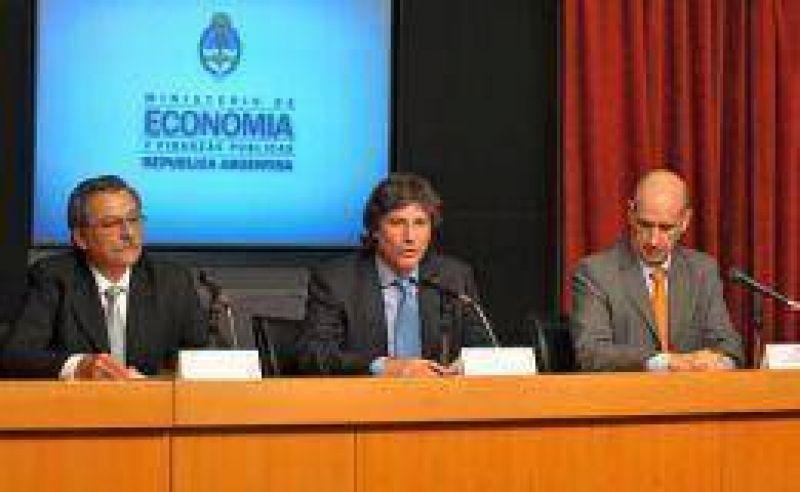 Econom�a confirm� que el super�vit fiscal ascendi� a $ 2.800 millones en noviembre
