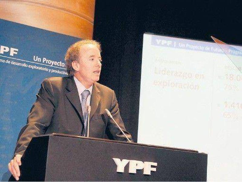 YPF anunci� inversiones por US$ 500 millones en exploraci�n