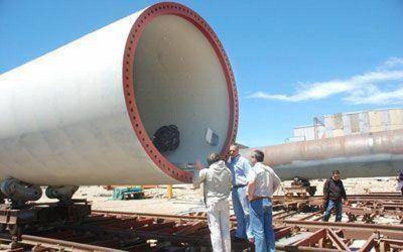 El primer aerogenerador NRG 150 podr�a estar concluido en febrero