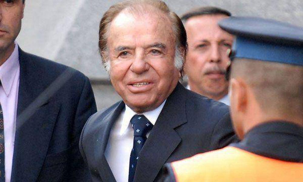 Con 79 años, Menem aseguró que lanzará su candidatura presidencial