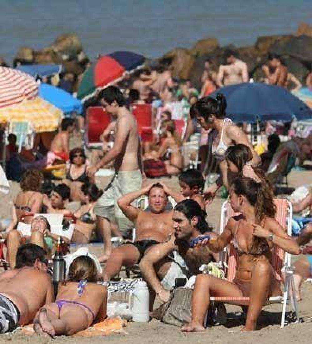 Pinamar: hay 15% más de turistas