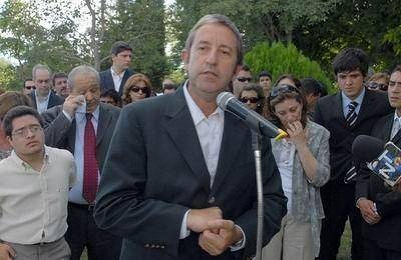 """Fue un hombre de consensos que defend�a el federalismo"""