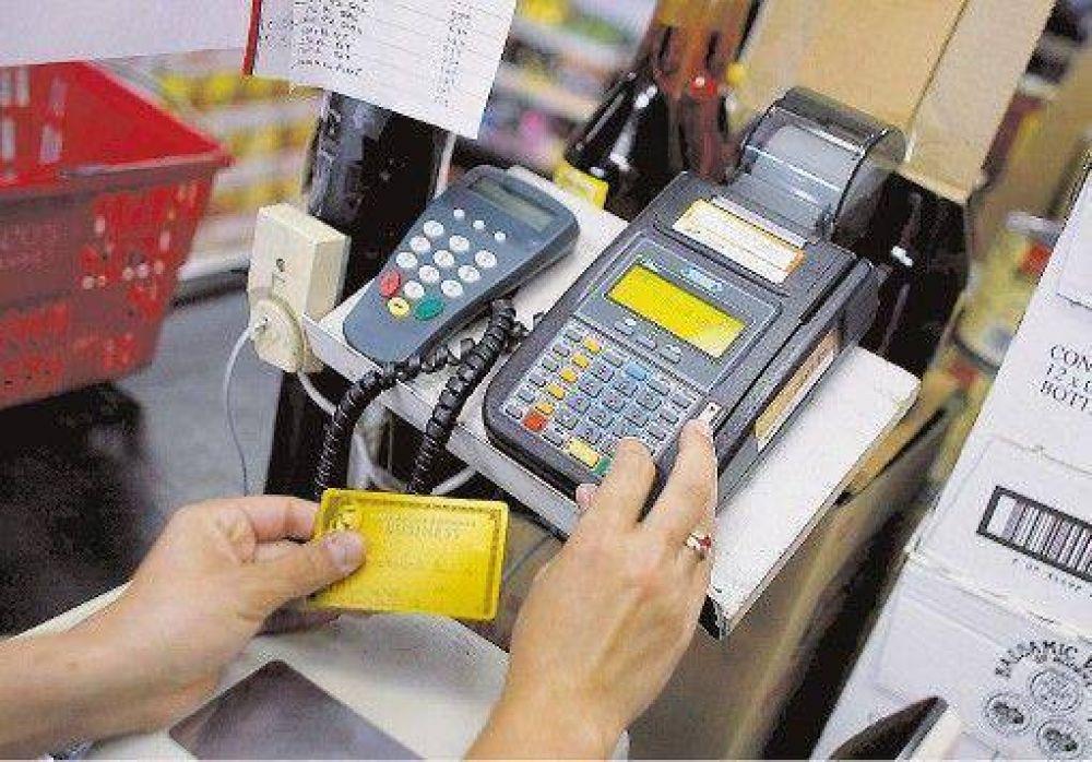 La AFIP controlará a quienes gasten $ 3000 o más con tarjeta