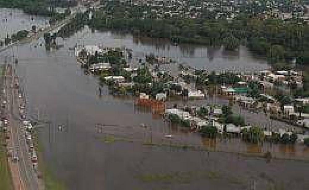 Polémica entre el Gobierno y el Campo por las inundaciones