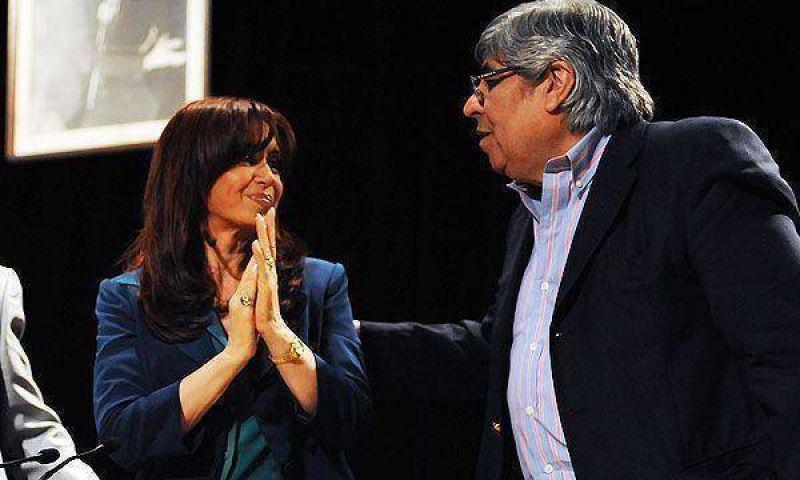 La Presidente recibe a la c�pula de la CGT en la residencia de Olivos