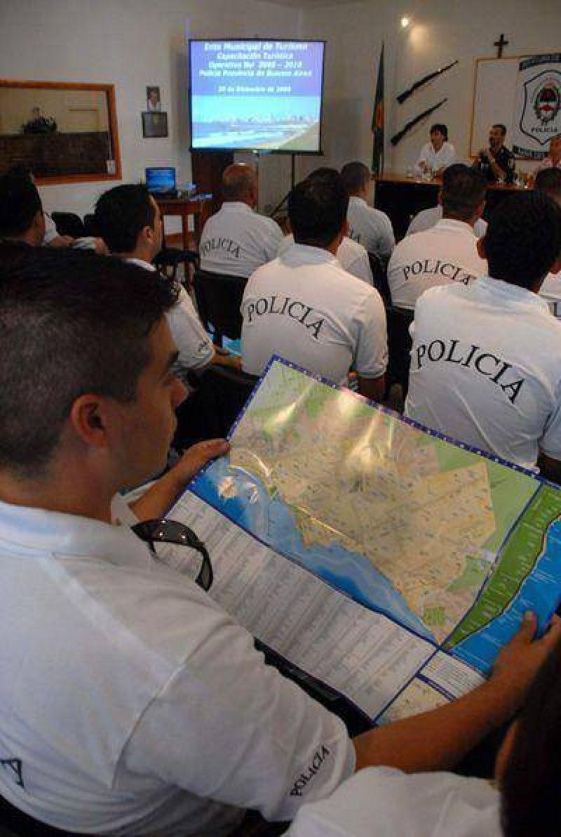 El Emtur capacita a los policías del Operativo Sol