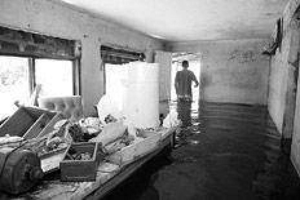 El agua baja en Areco y sube en Santa Fe