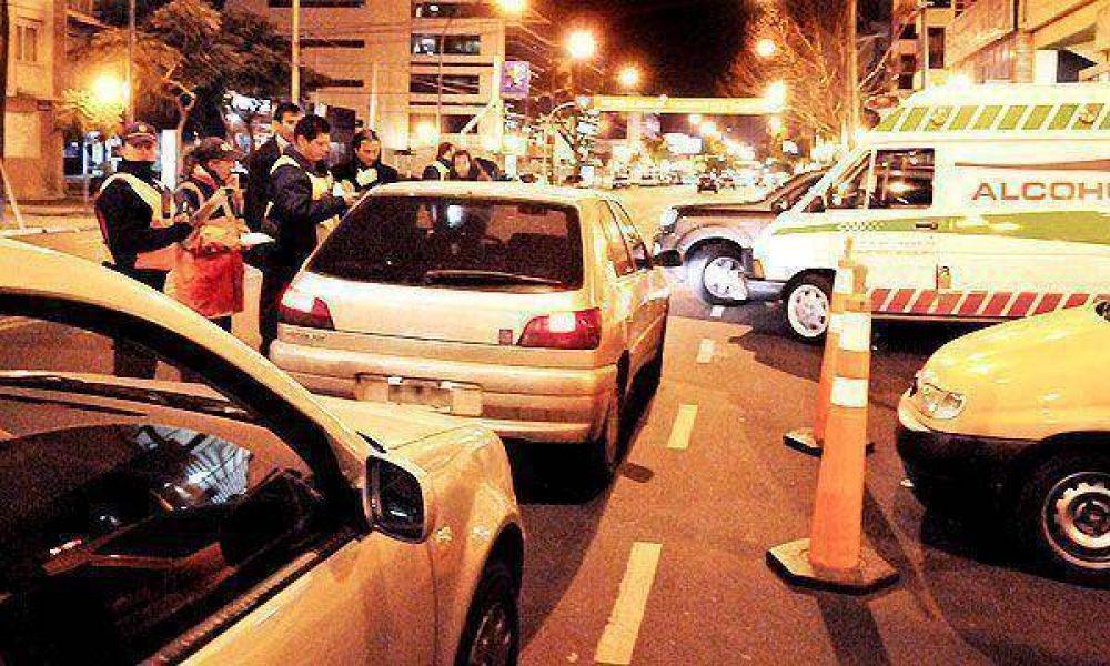 Secuestraron 22 vehículos en los controles de alcoholemia en Capital