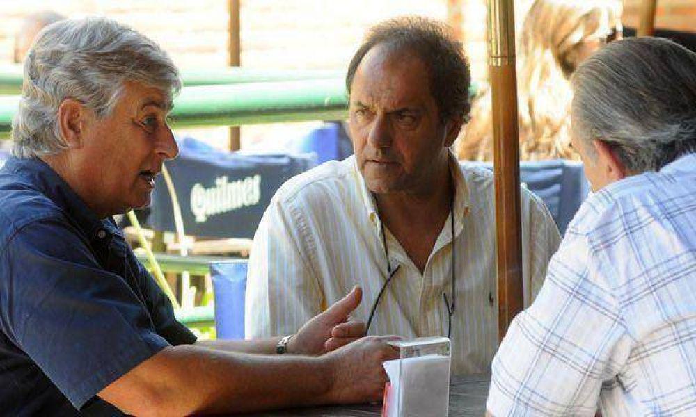"""Scioli aseguró que la Provincia """"se desendeudó en términos reales"""" durante su gestión"""