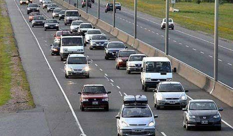 Multar�n al 50% de los automovilistas de la ruta 2