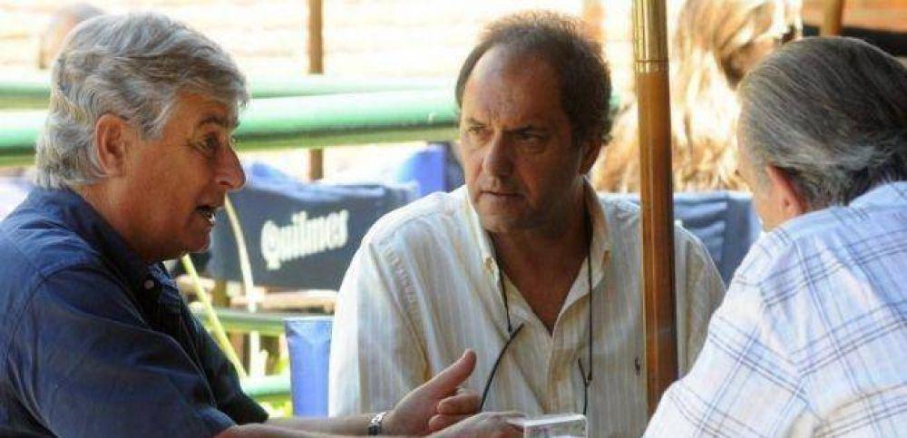 Viaje relámpago de Scioli a Pinamar para evitar que Altieri se vaya con De Narváez