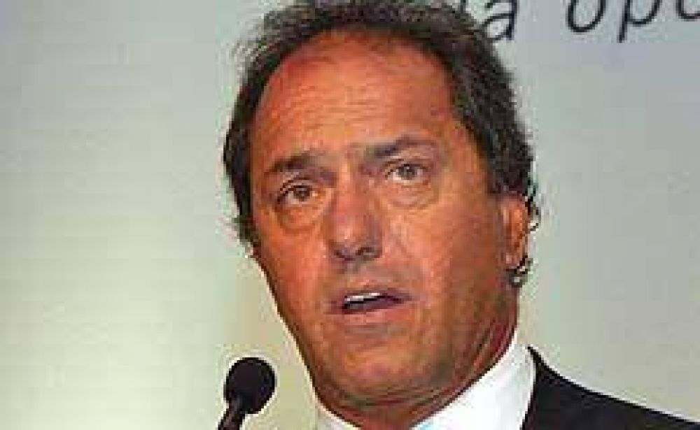Inundaciones: Scioli le bajó el tono a sus críticas al Campo