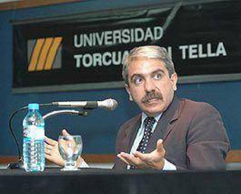 "Aníbal Fernández calificó de ""menos diez"" a Eduardo Duhalde"