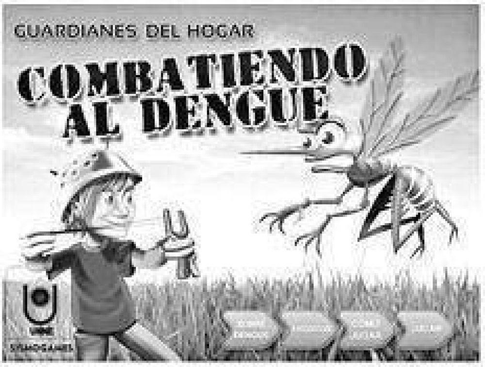 Un juego contra el dengue