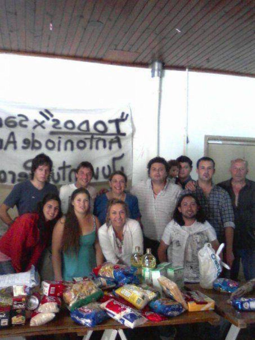 La JP Mar del Plata estuvo en San Antonio de Areco