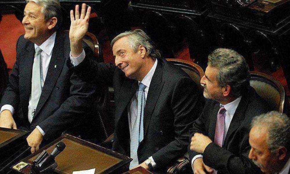 Kirchner almorzará con empresarios y políticos de la Costa